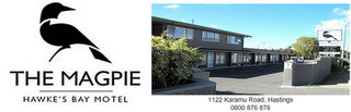 Magpie Hawke's Bay Motel, 1122 Karamu Road, Hastings # 1354: From $90.00 per night