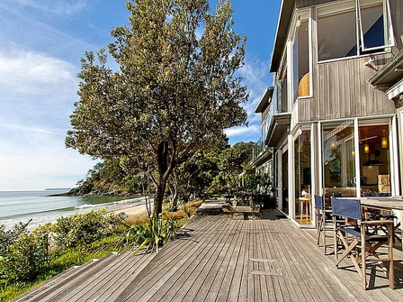 Bliss on the Beach (Bachcare) Tangiora Avenue, Whangapoua: From $995.00 - $1295.00 per night - 3 night minimum stay