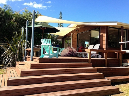 At the beach, Paku Drive, Tairua (Bachcare) From $180.00 0 $320.00 per night