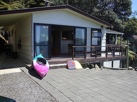 Shakespeare Cottage (Bachcare) Purangi Road, Front Beach, East Coromandel - From $155.00 - $345.00 per night: 2 night minimum stay
