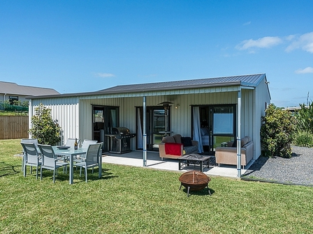 Sunnyside Retreat (Bachcare) Te Whai Street, Mangawhai Heads: From $170.00 - $345.00 per night - 2 night minimum stay