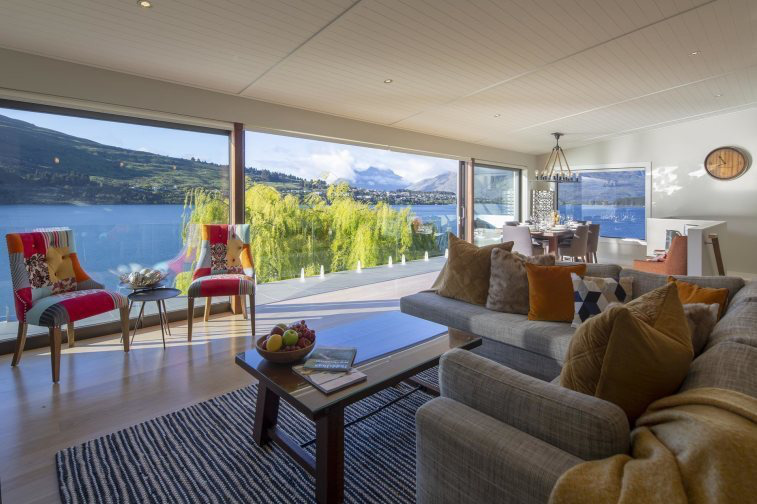 Kohanga Luxury Lakeside Villa, Queenstown #1505: From $900.00 per night for a three night stay