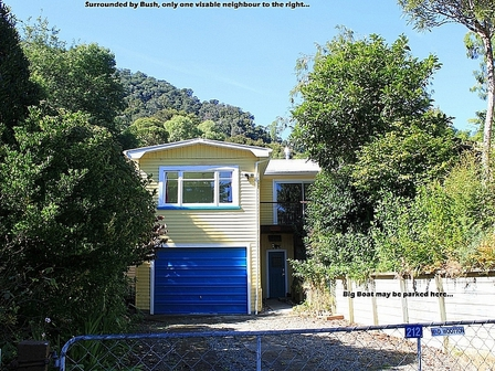 Barracuda Bills, Duncans Bay Road, Duncan Bay,  Marlborough Sounds (Bachcare) From $130.00 = $180.00 per night - 2 night minimum stay