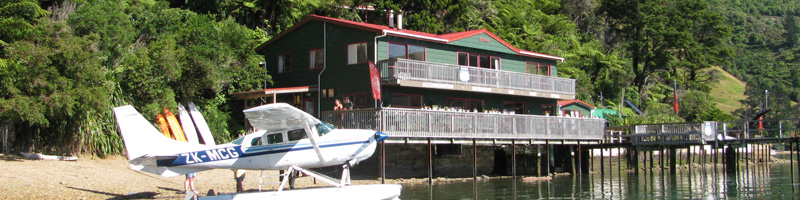 The Lodge at Te Rawa: Pelorus Sounds #1331: From $225.00-$250.00 per night